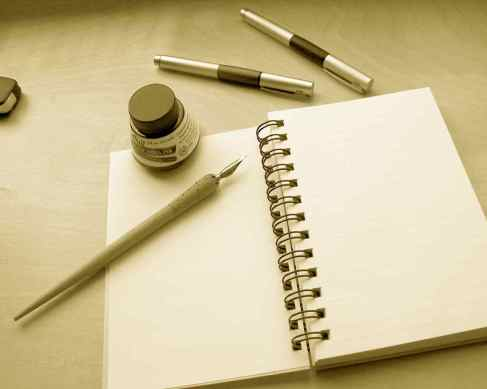 writing-on-paper-with-pen